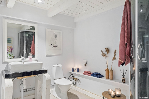 Studio/lägenhet: Badrum