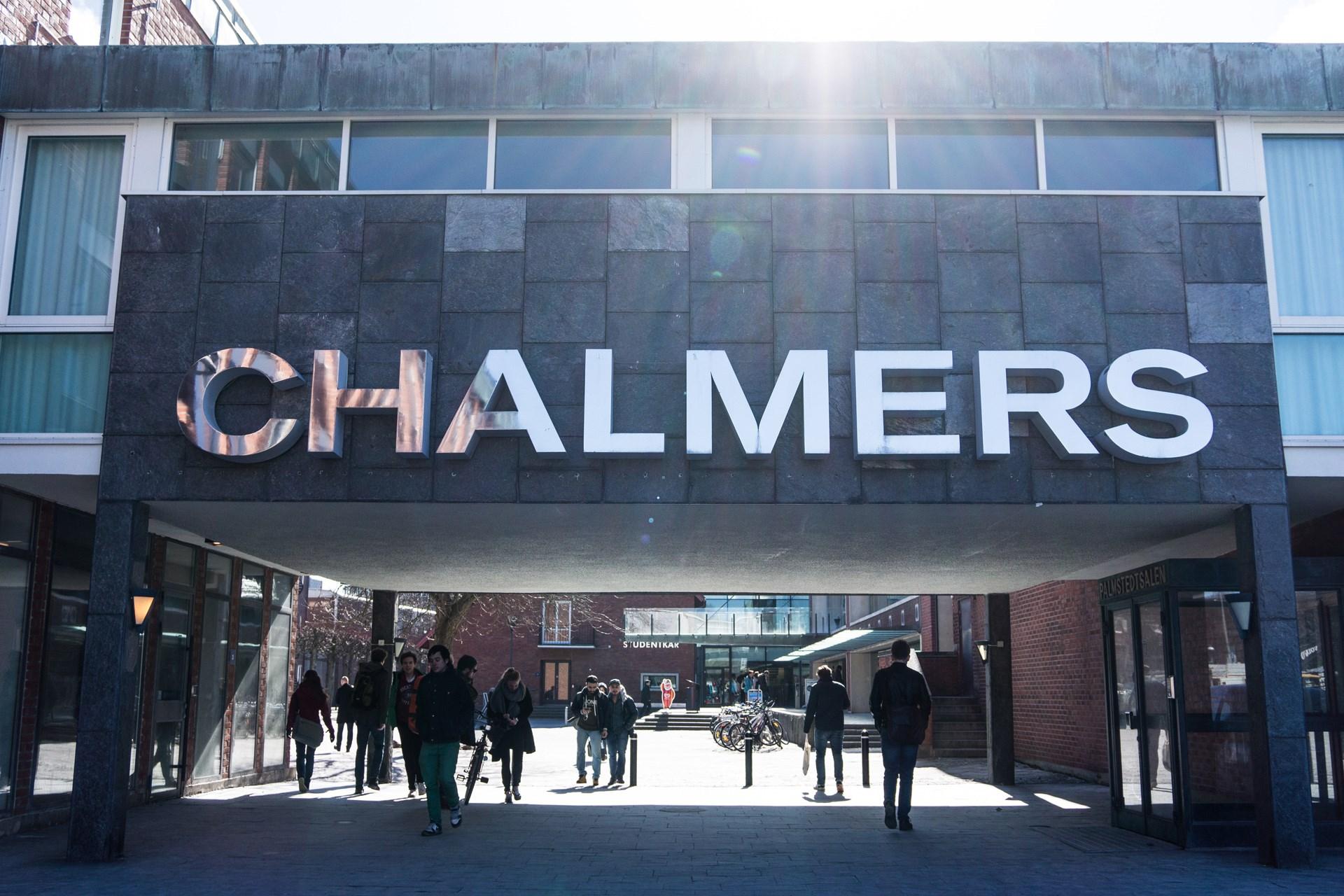 Ca. 2,5 km till Chalmers Tekniska Högskola