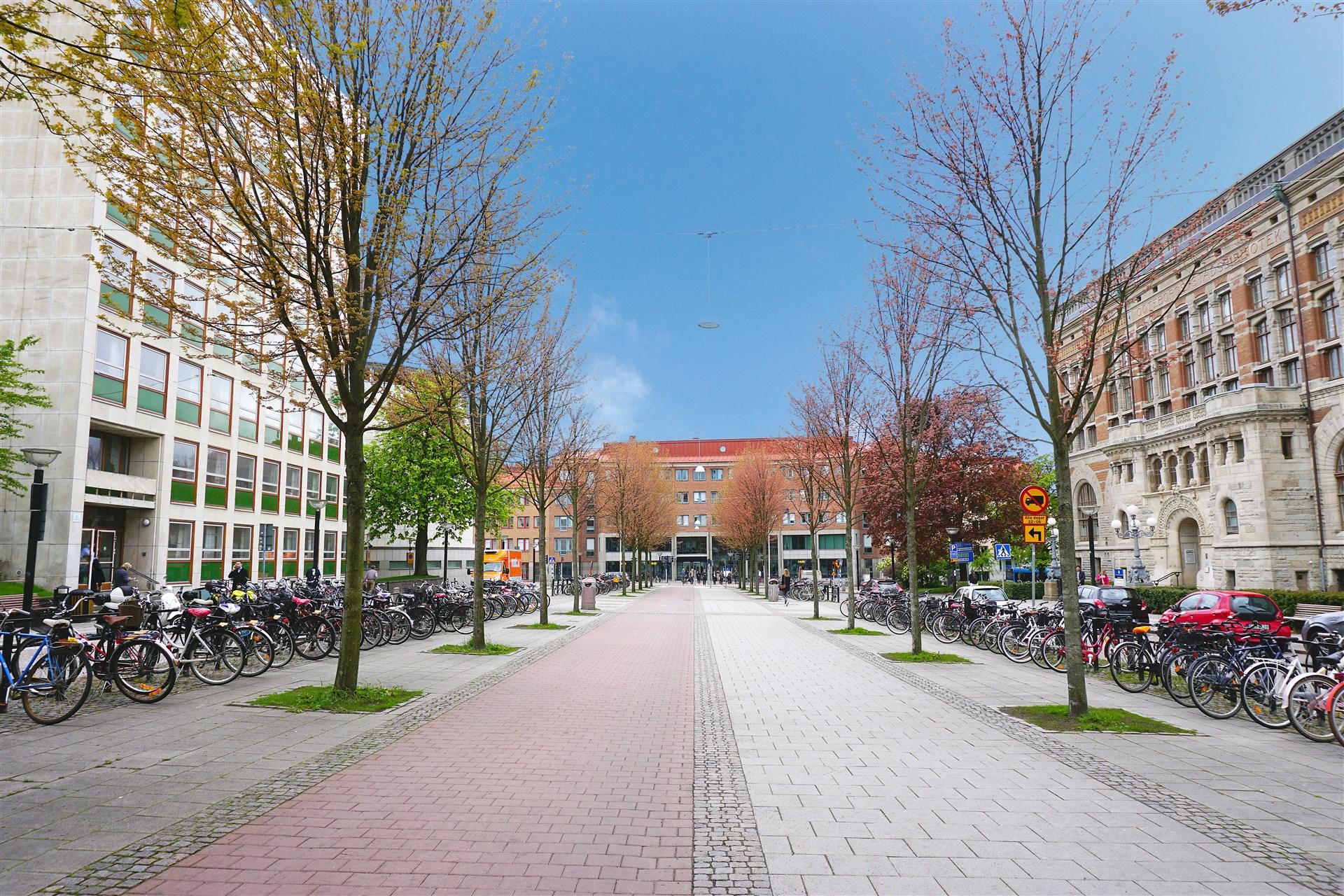 Knappt 2 km till Handelshögskolan på Vasagatan