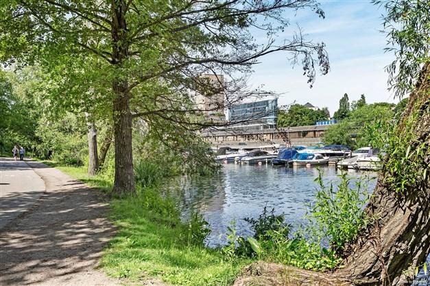 Promenadstråk vid Kungsholms strand
