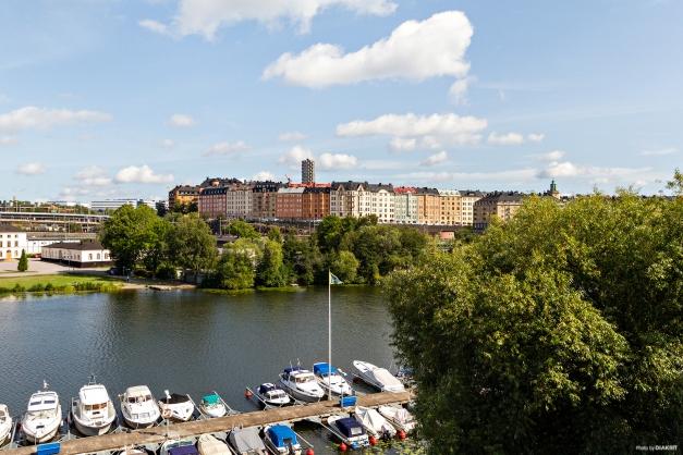 Utsikt mot Karlbergskanalen