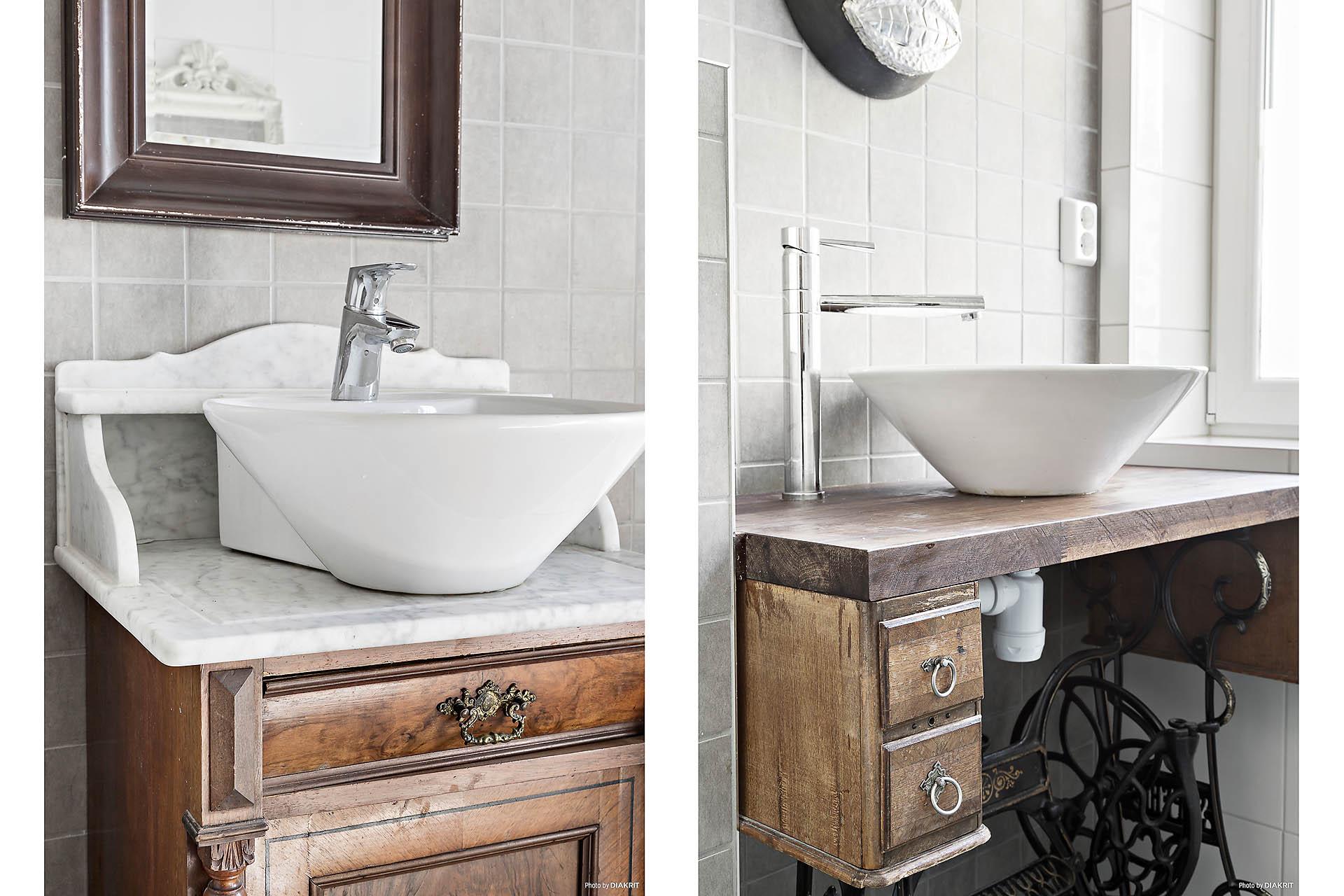 Handfat badrum 1 och 2