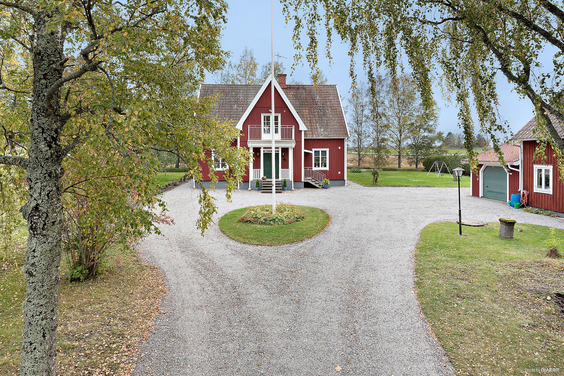 Drömmen om ett traditionell, svensk mangårdsbyggnad