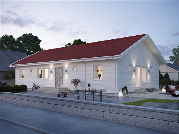 Illustration villa Fredriksdal