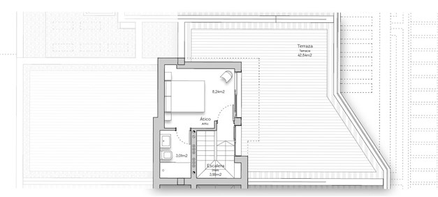 Lägenhet B31 - övre plan
