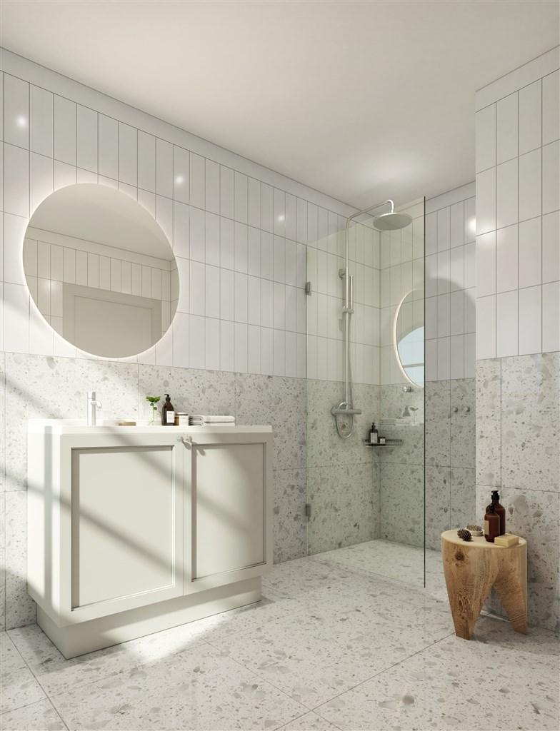 Inbyggda maskiner i badrum/tvättstugan