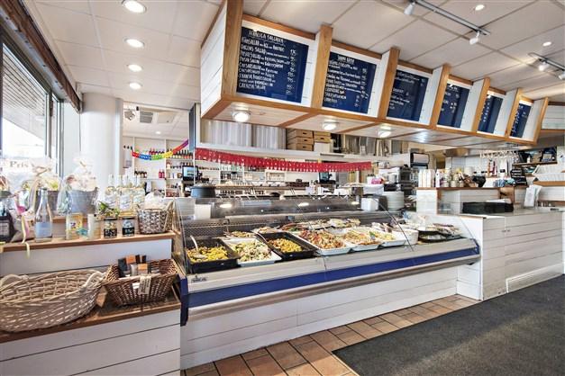 Erssons Fisk & Delikatess i Fruängens centrum