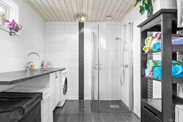 Tvättstuga och duschrum