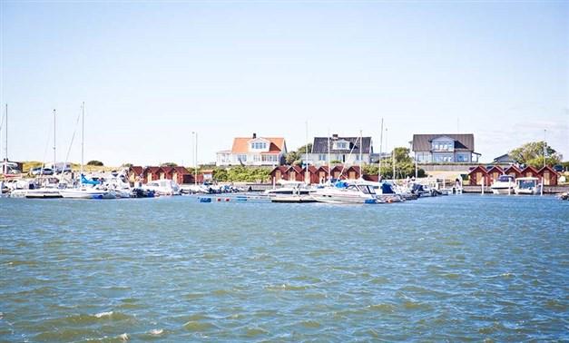 Glommens gästhamn Foto: Destination Falkenberg