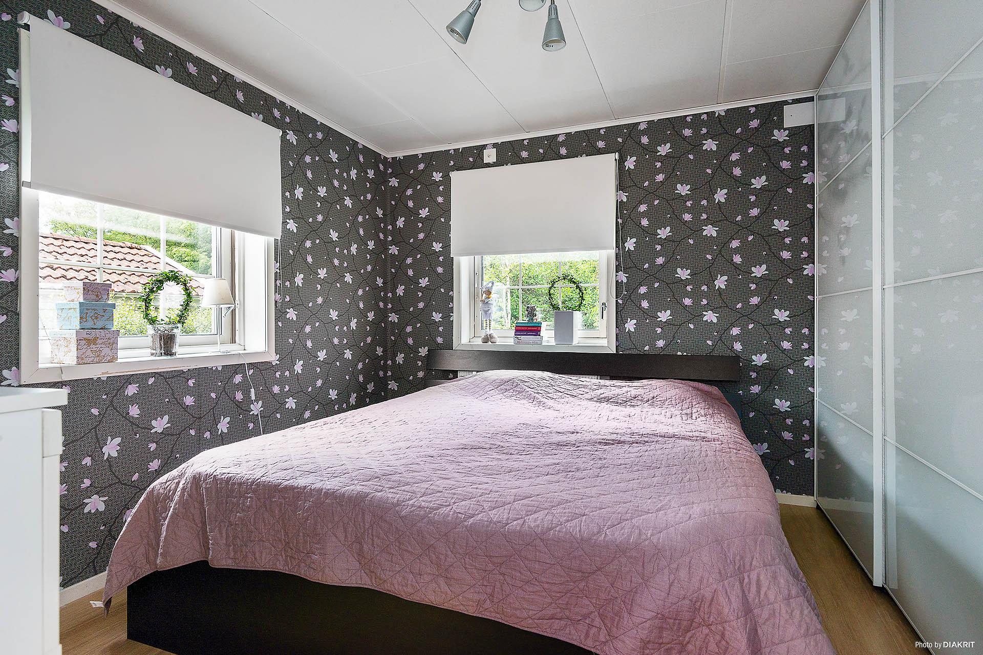 Stora sovrummet, plan 1