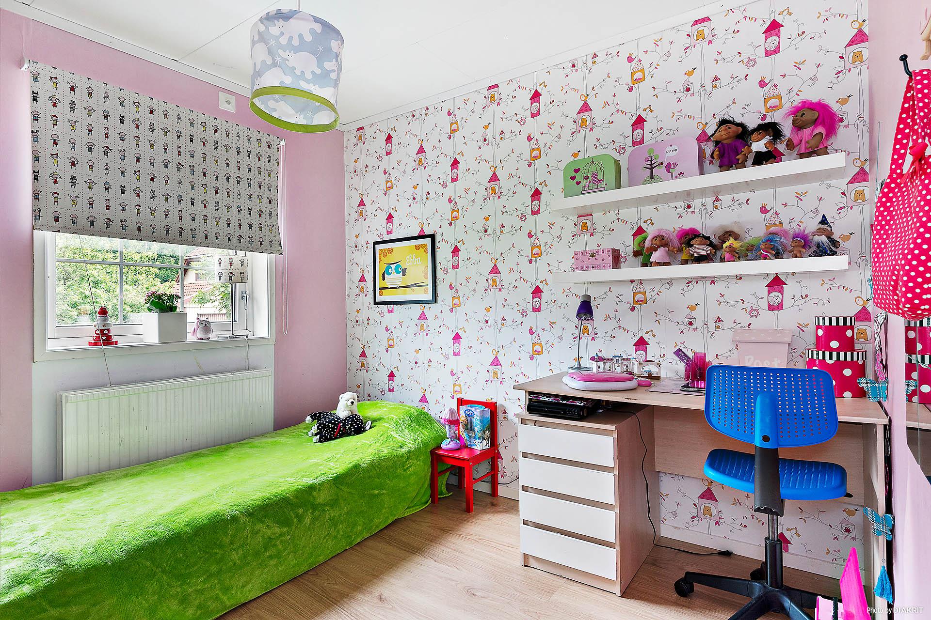Lilla sovrummet, plan 1