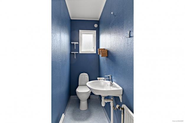 WC-rum på entréplan