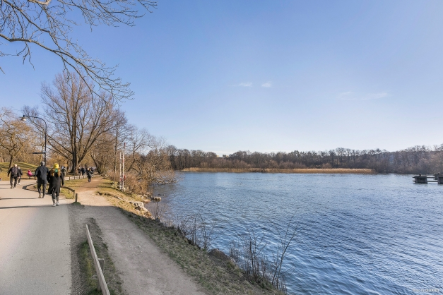 Området erbjuder flertalet trevliga promenadstråk