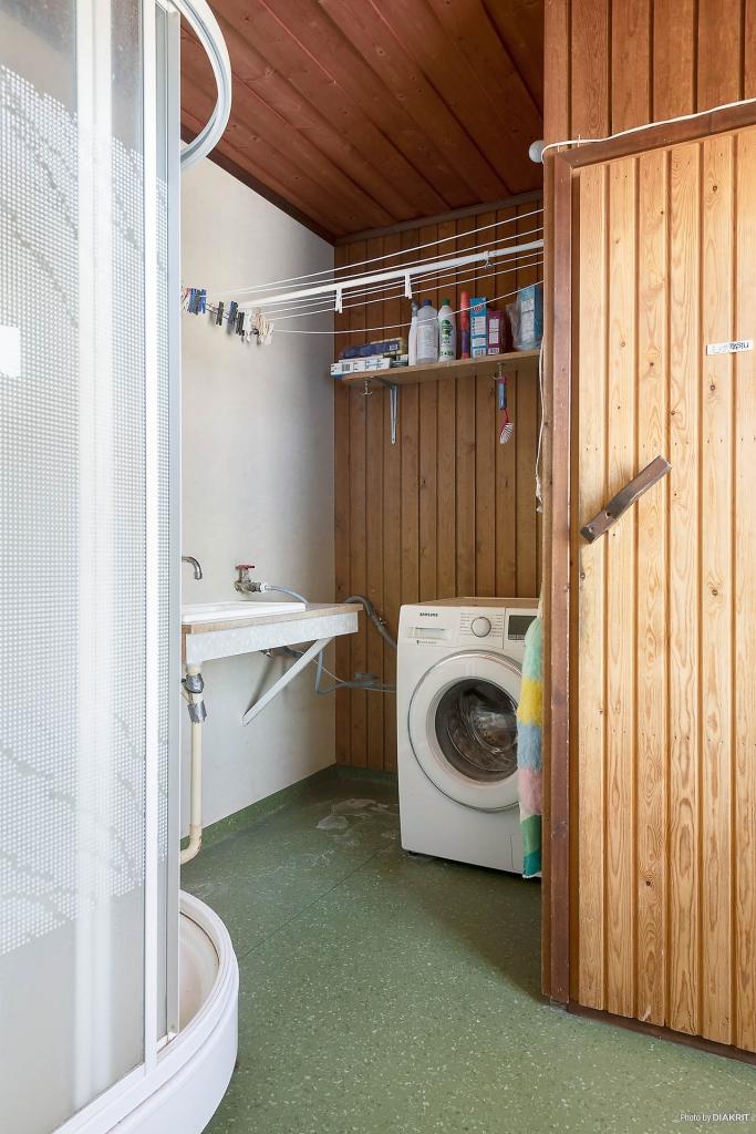 Tvättstuga / Bastu och dusch