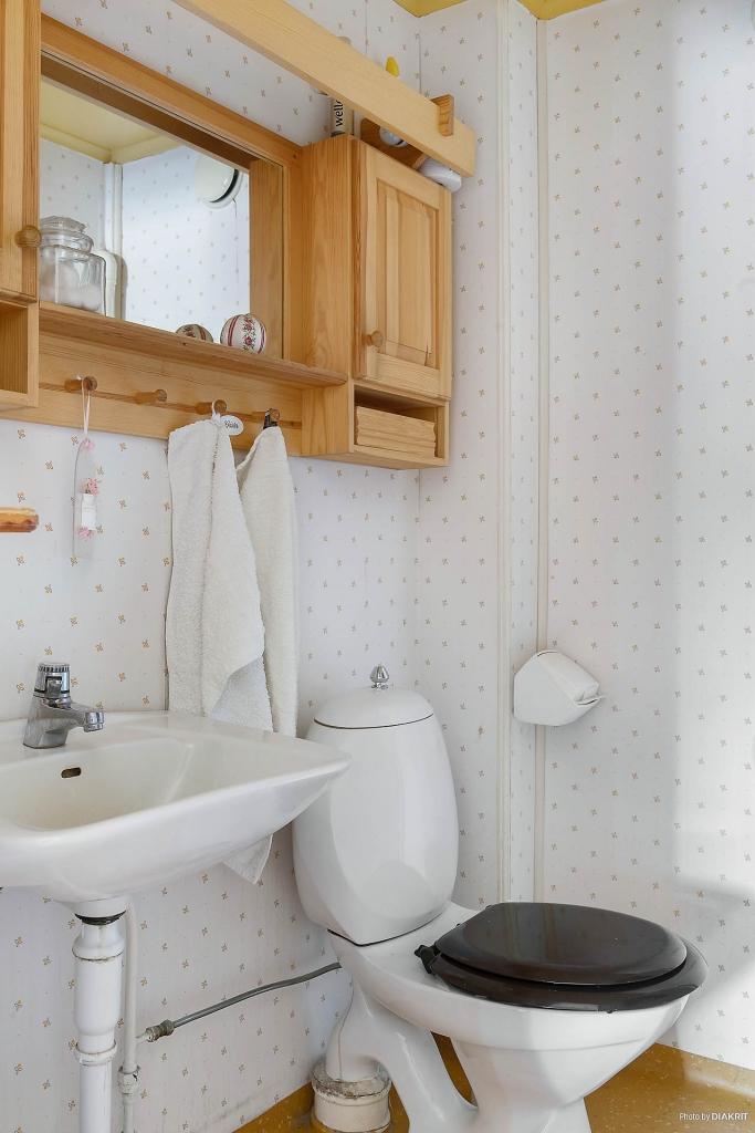 WC på övervåning