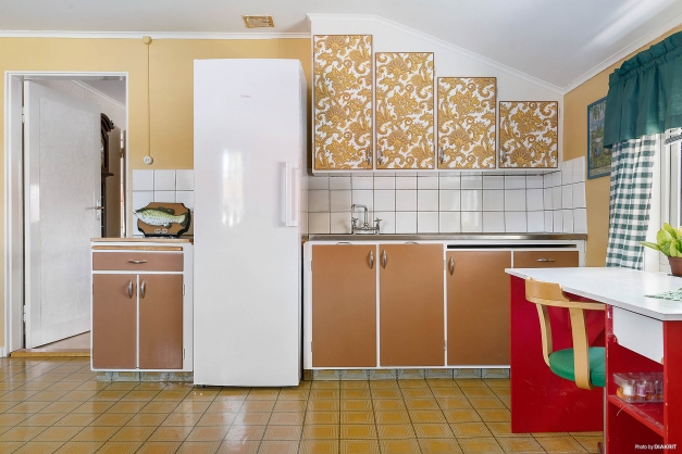 Kök på övervåning