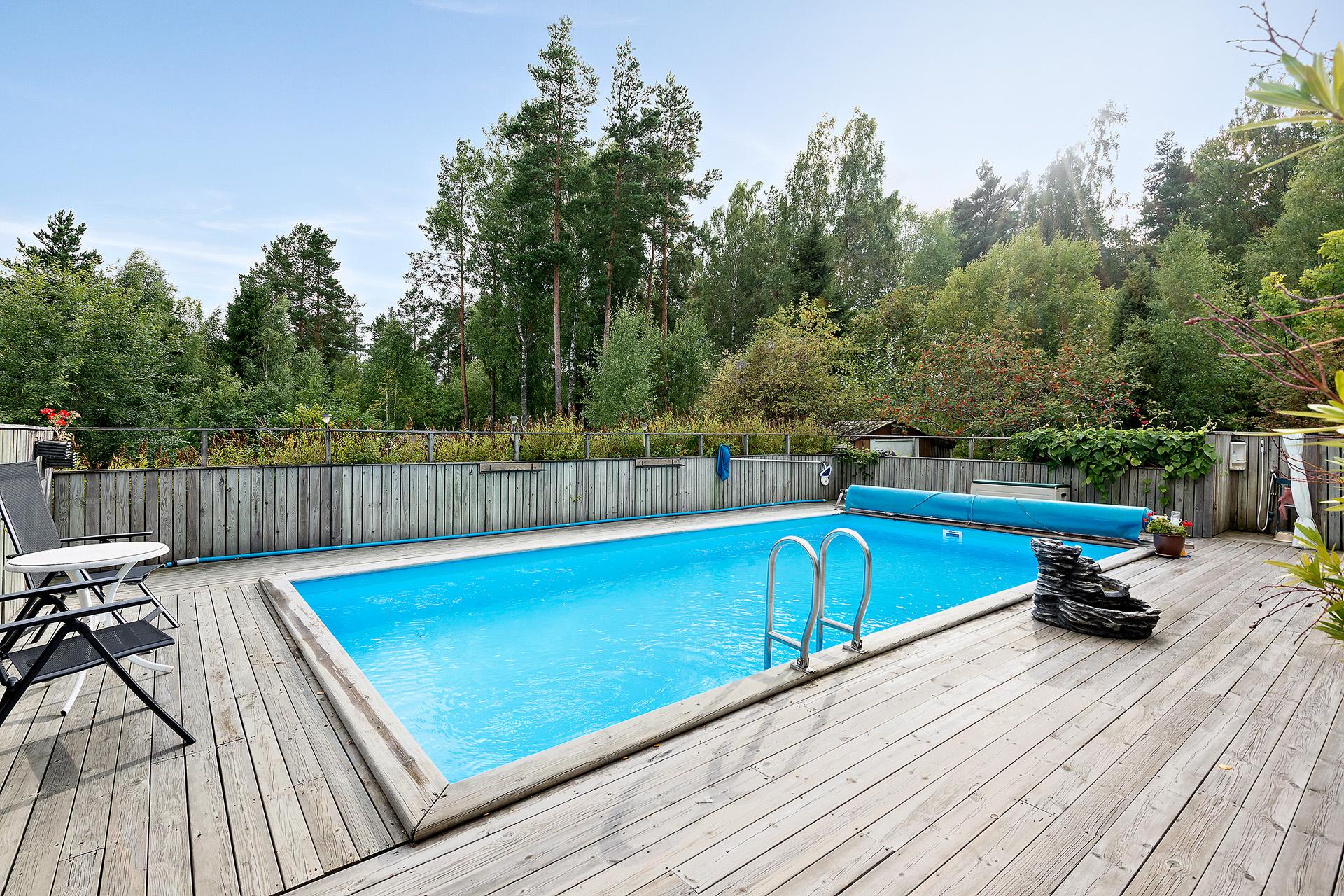 Altandäck med pool