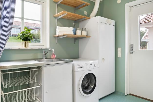 Tvättutrymme med grovingång