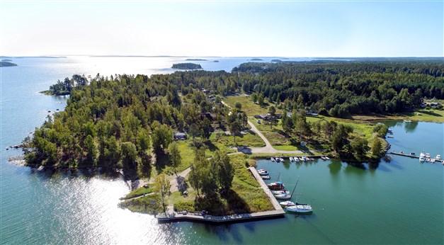 Områdesbild över Saltvik