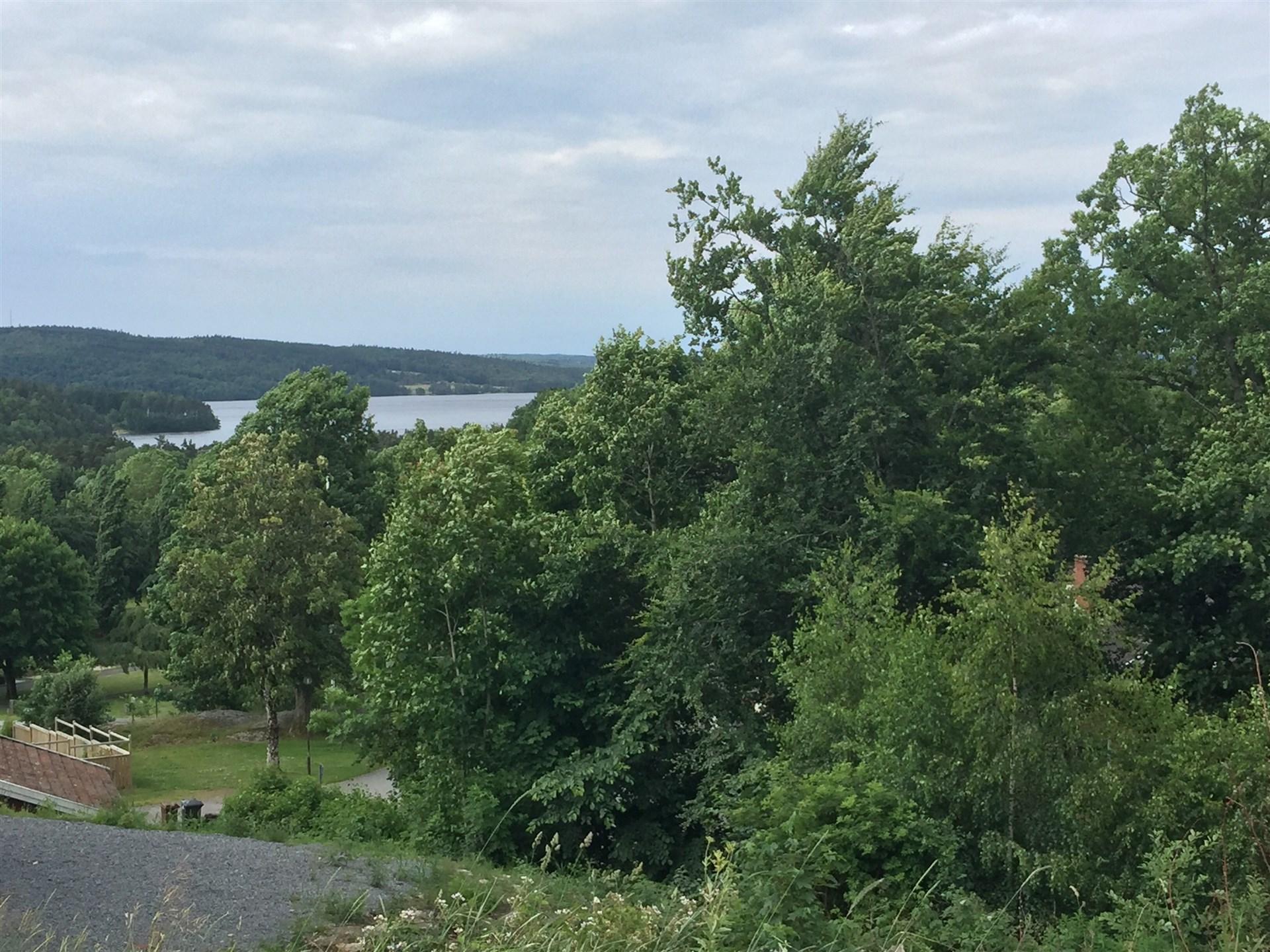 Fin utsikt mot Lygnern!