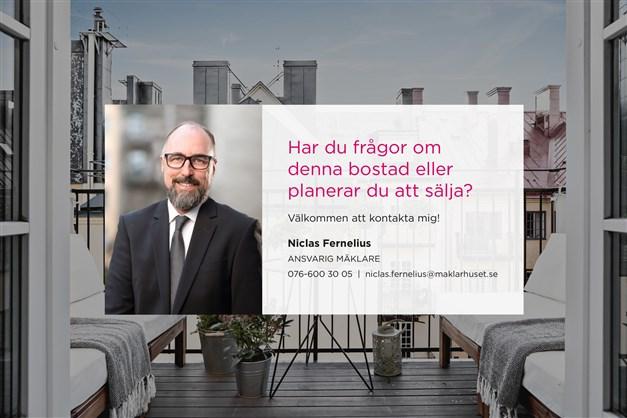 Ansvarig mäklare Niclas Fernelius