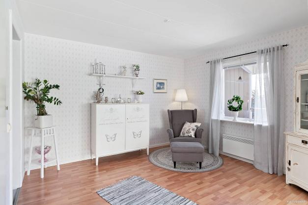 Vardagsrum/möjligt sovrum
