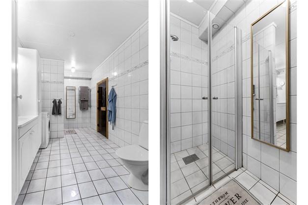 WC/Dusch/Tvätt/Bastu (uthyrningsdel)