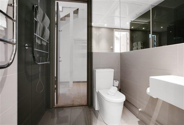 Duschrum på våningsplan 1