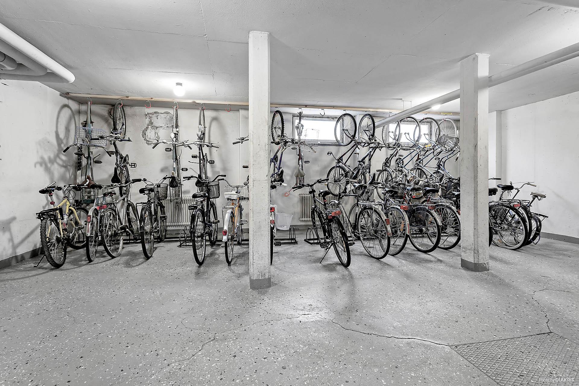 Cykelrum i föreningen