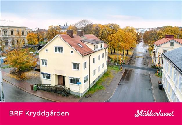 Välkommen till Brf Kryddgården - en ny bostadsrättsförening i centrala Hudiksvall!