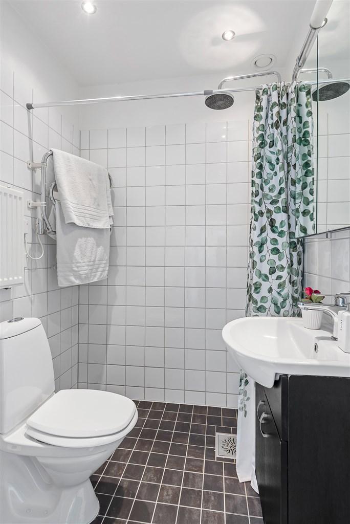 Snyggt duschrum