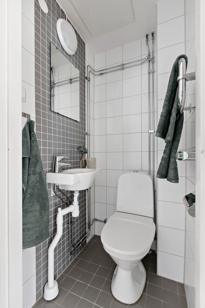 Plan 1 - Toalett
