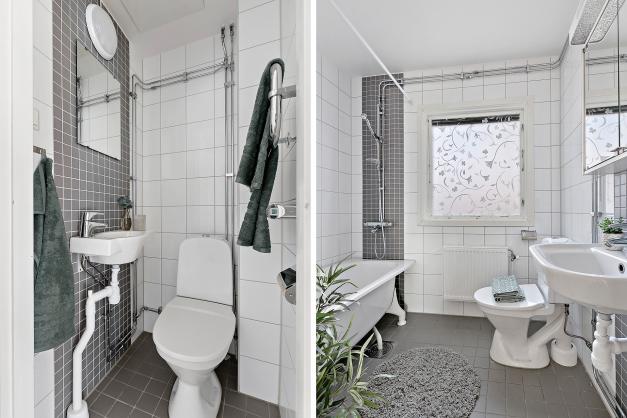 Plan 1 - Toalett/Badrum