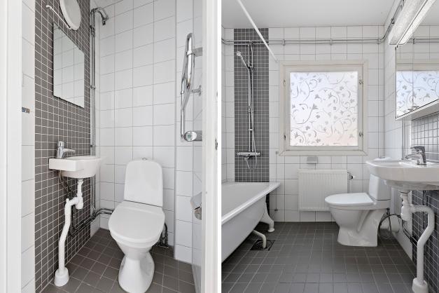 Plan 2 - Toalett/Badrum