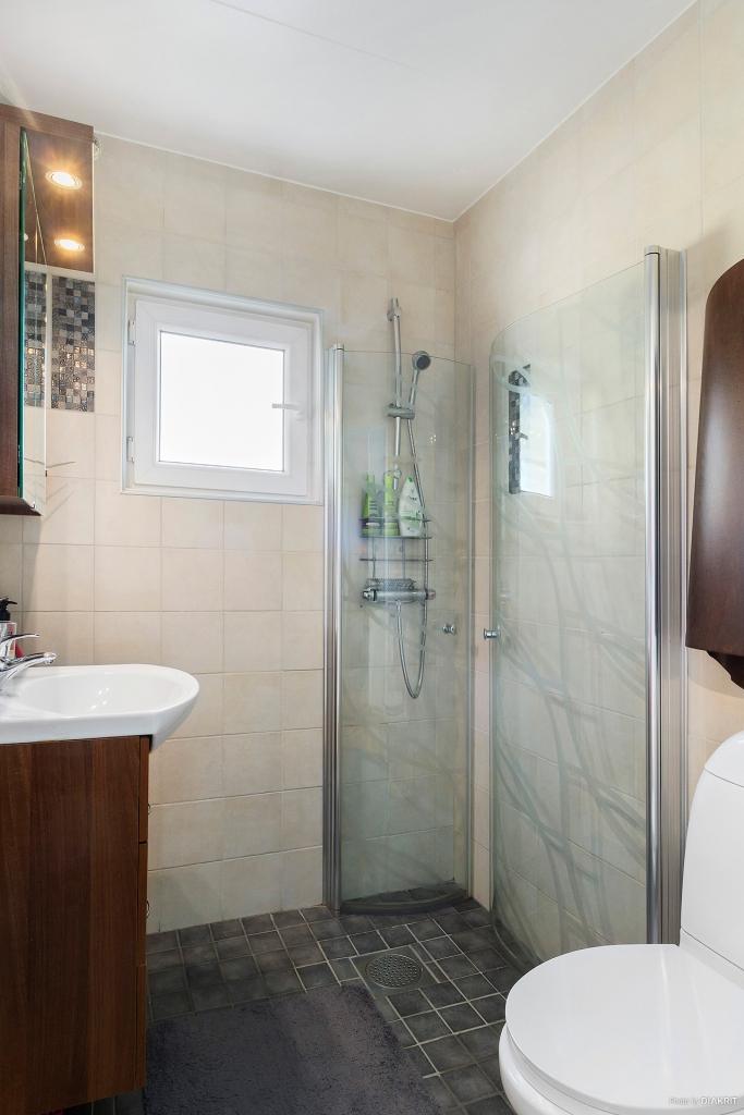 Badrum/dusch övre plan