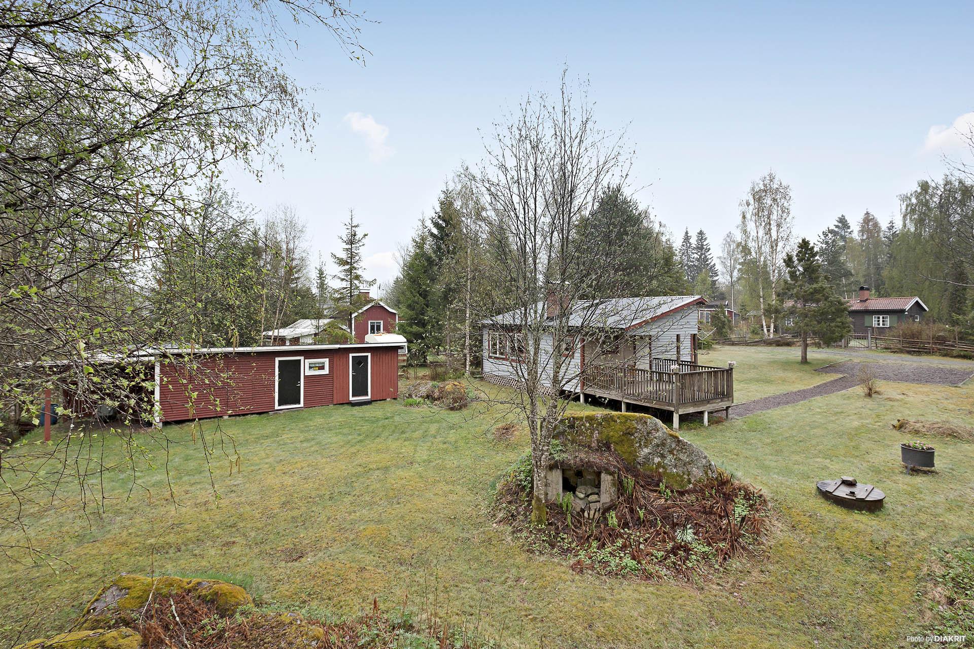 Hus/uthus/trädgård