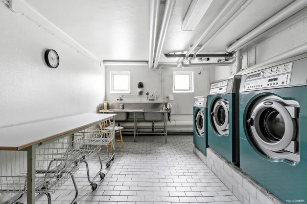 Föreningens gemensamma tvättstuga