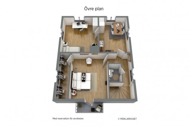 Planritning ÖV 3D
