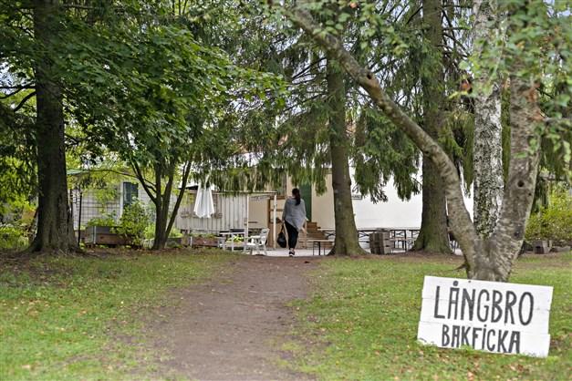 Parkcaféet i långbroparken