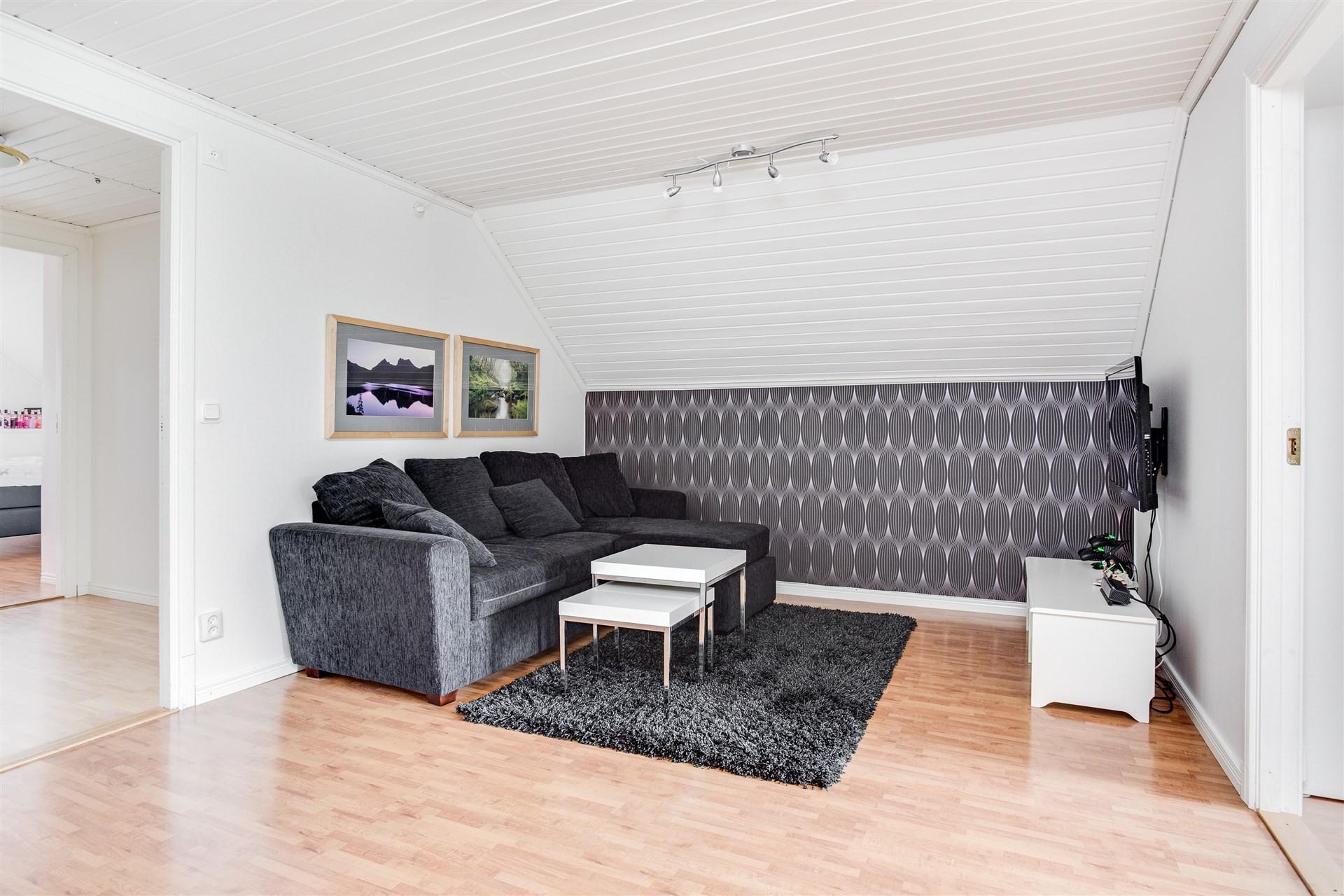 Hallen är en perfekt plats för en TV-hörna!