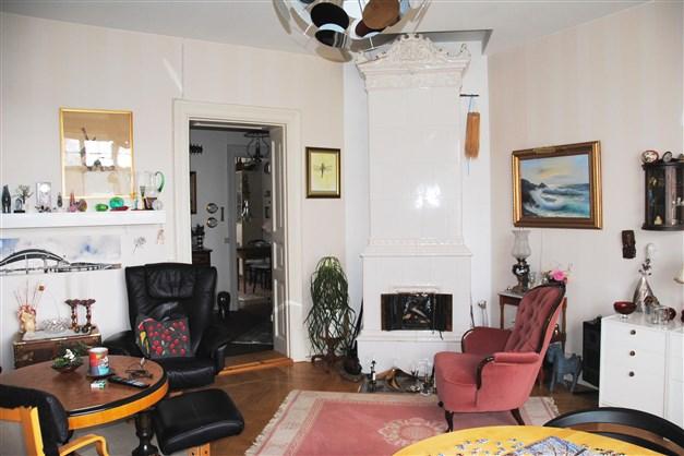 Exempel vardagsrum (våning 1)