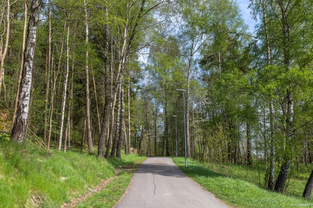 PROMENADSTRÅK - Härligt promenadväg precis i närheten