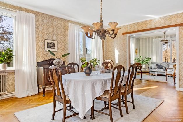 MATSAL - Detta rum har i alla tider fungerat som matsal för trevliga middagar i gott sällskap