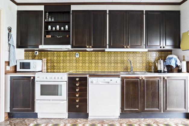 Kök med gott om förvaring