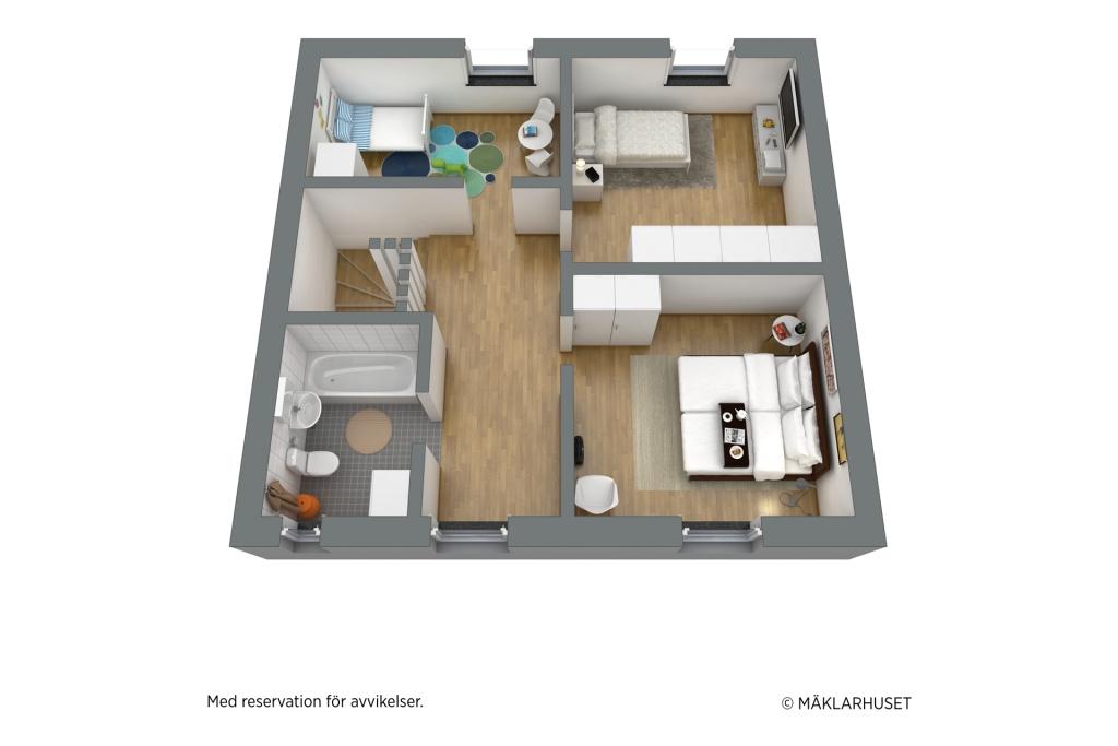 Förslag på möblering