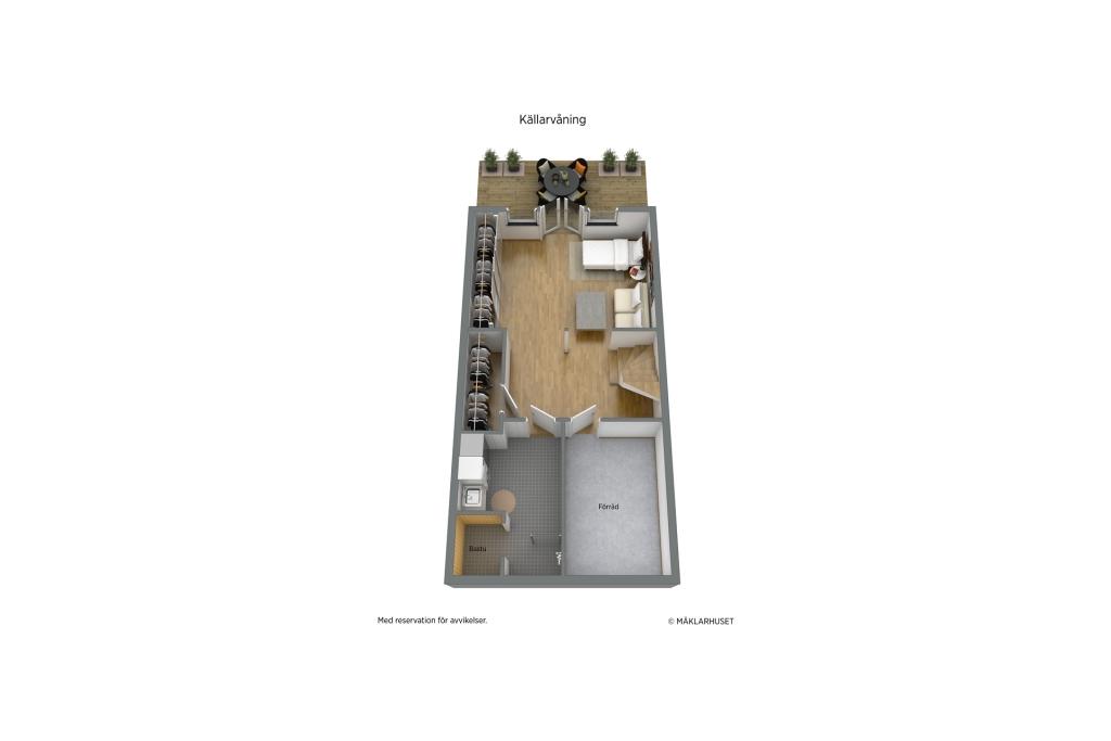 Planritning 3D KV