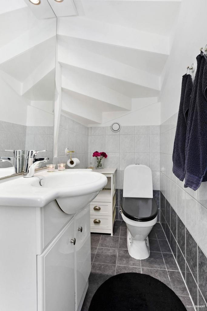 Fräscht WC.