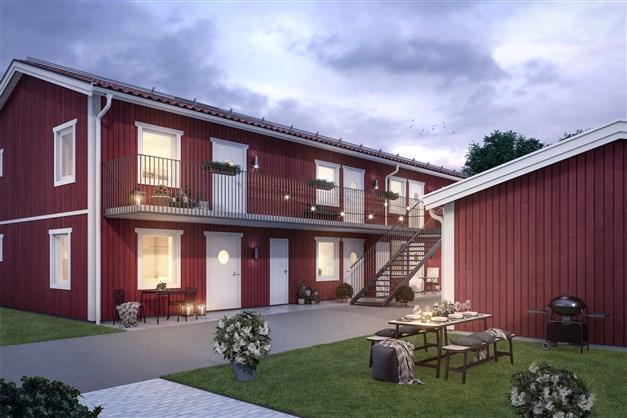 Välkommen hem till din nybyggda lägenhet!
