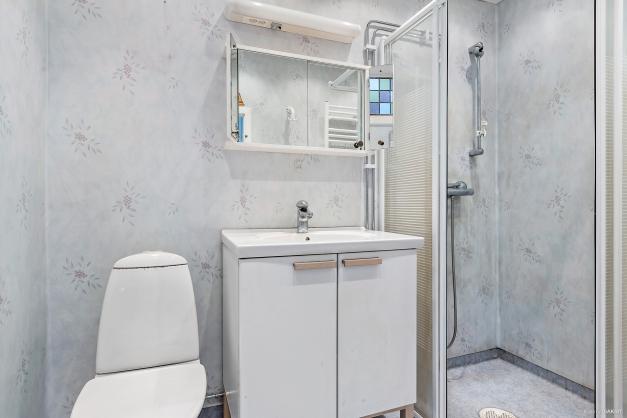 WC & Dusch på entréplan