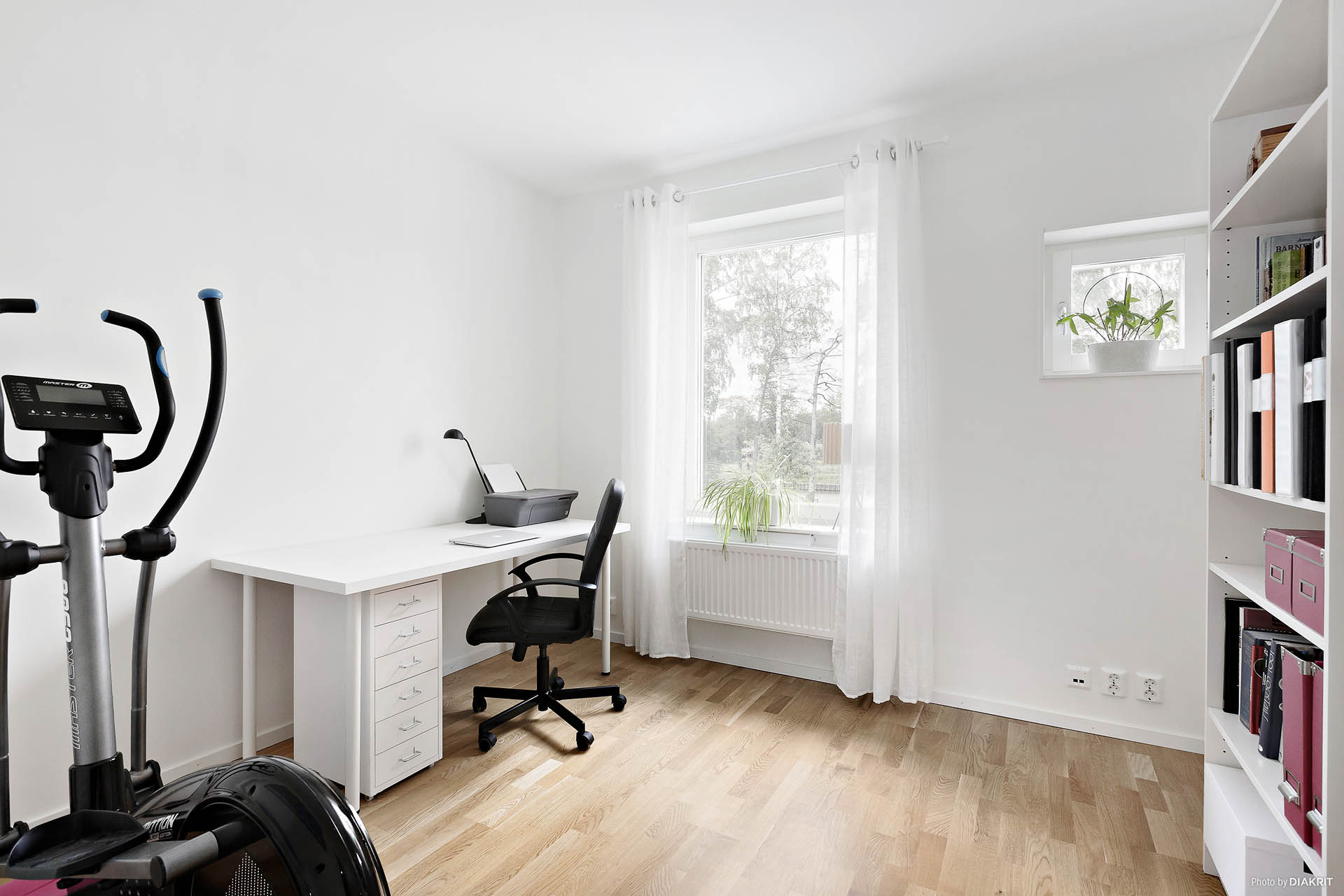 Kontor/sovrum övervåning